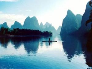 reka Li med Guilinom in Yangshuom
