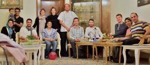Obisk družine v Isfahanu