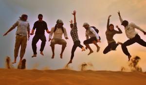 Zabavni trenutki v puščavi