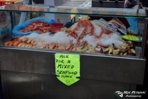 Ribja tržnica v Bergnu